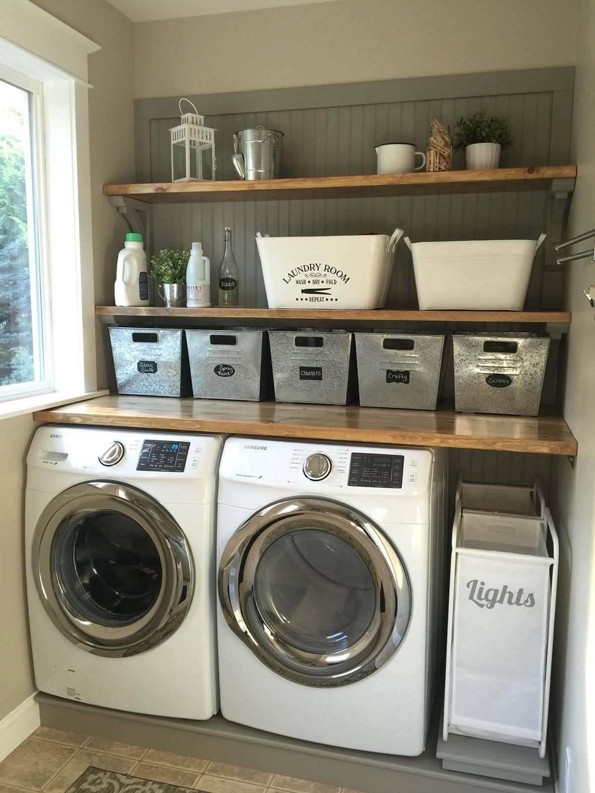 03 small laundry room design ideas homebnc