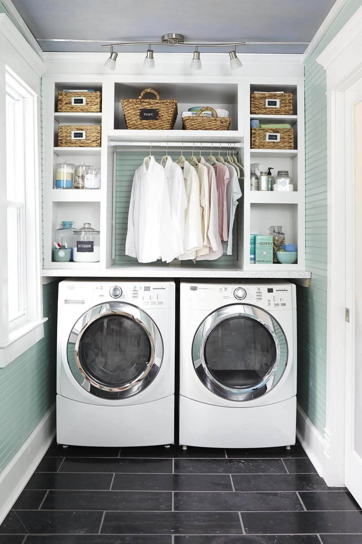 02 small laundry room design ideas homebnc