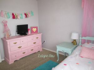 Light Pink and Mint Green Bedroom Fresh My Daughter S Pink Gold and Mint Room Furniture Painted