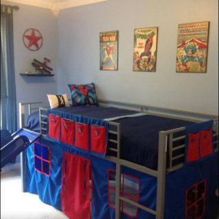 Loft Beds for Teens Lovely Boys Super Hero Loft Bedroom Junior Fantasy Loft Bed with