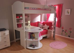 Loft Beds for Teens Luxury Stompa Casa 4 High Sleeper In White & Red