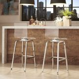 Lucite Counter Stools Inspirational Inspire Q Miles Clear Acrylic Swivel Bar Stools Set Of 2
