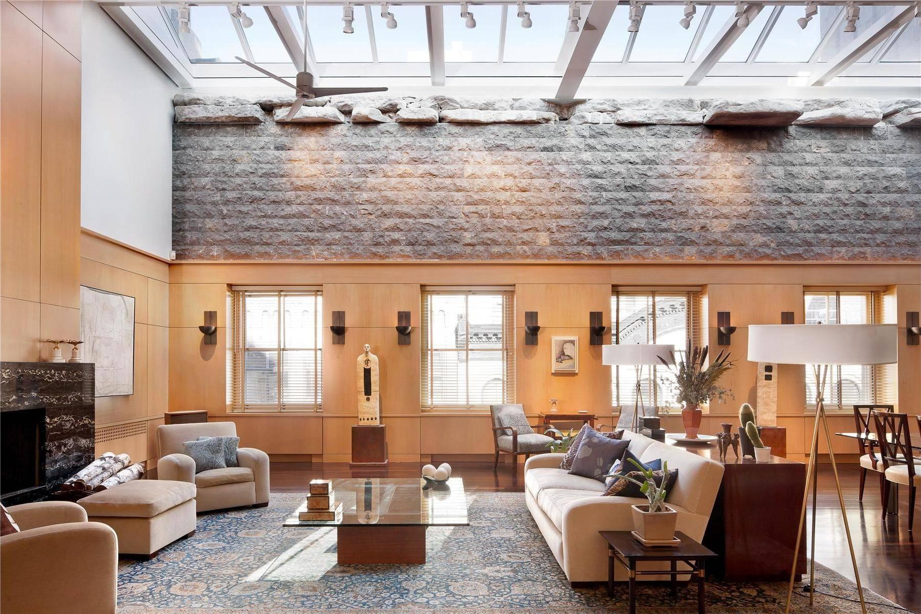 superb luxury penthouse tribeca new york