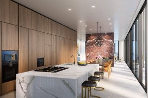 Luxurious Penthouses In New York City Elegant David Chipperfield Designed Manhattan tower tops Out