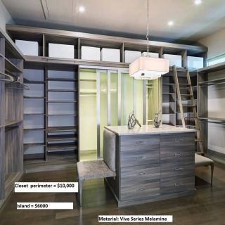 Luxury Custom Closets Lovely Closet Factory Walk In Closet In Tafisa Embossed Melamine