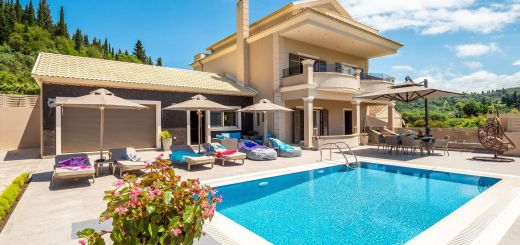 Luxury Mediterranean Villas Beautiful Luxury Villa Matzourana Luxury Holiday Villa Rental In