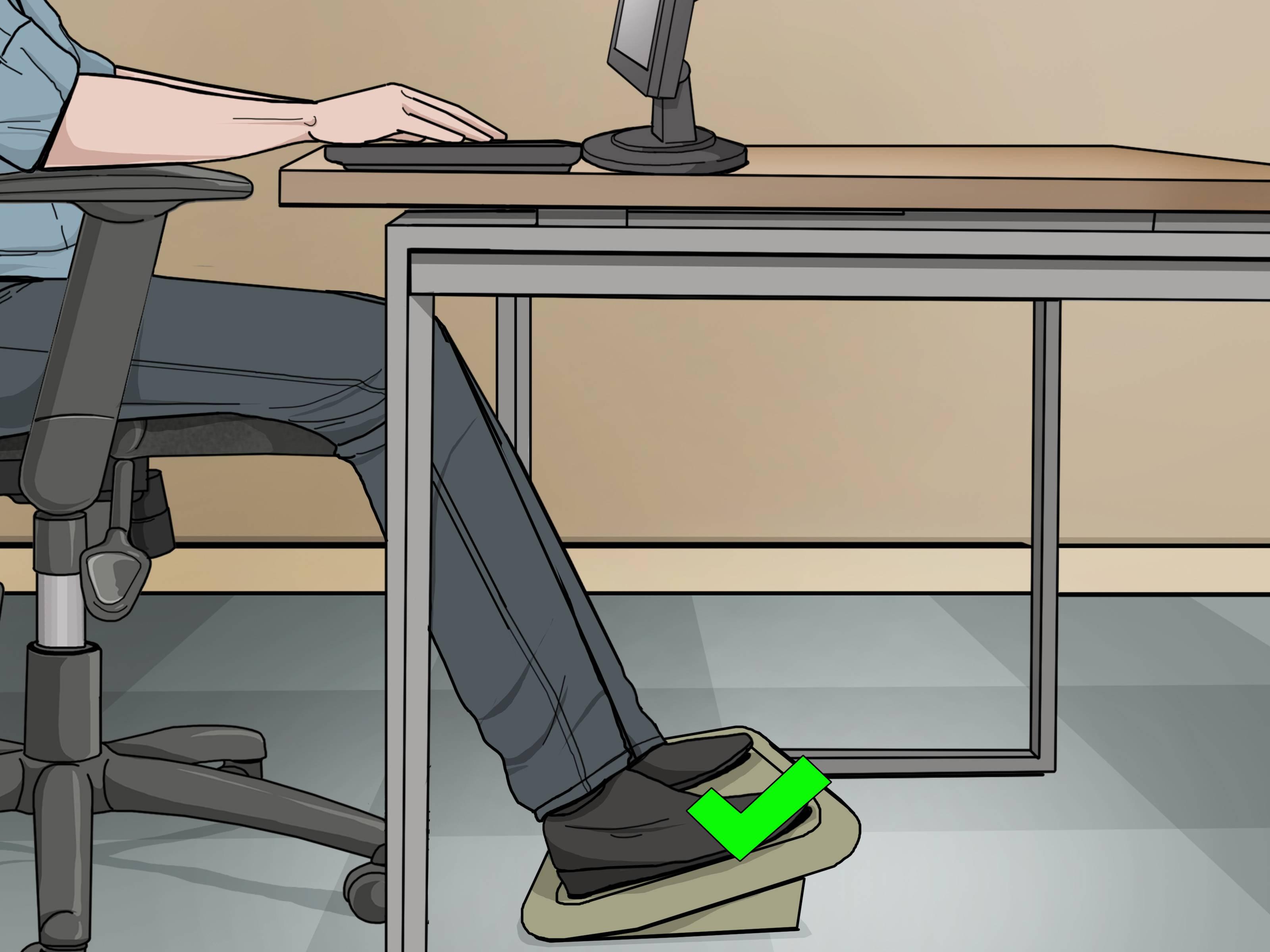Adjust fice Chair Height Step 9