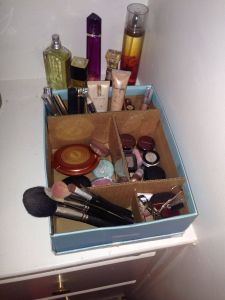 Makeup Storage Containers Beautiful Diy Makeup organizer Idea I Had that Worked for Me Shoe Box