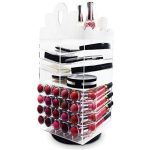 Makeup Storage Containers Best Of Ikee Design Princess Tiara Design Acrylic Rotating Makeup