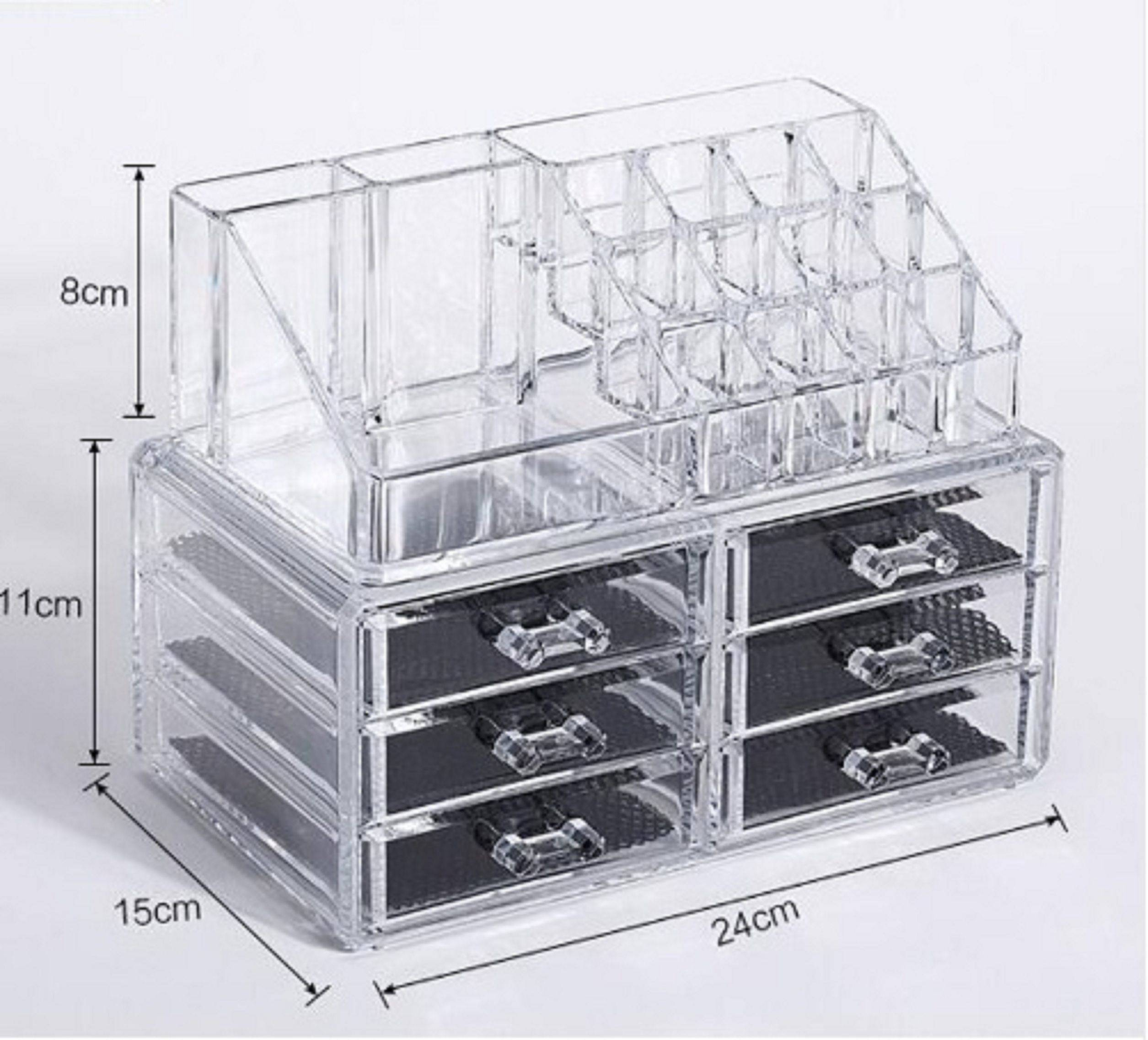 AVMART Cosmetic Organizer Makeup Storage SDL 3 5f6c6