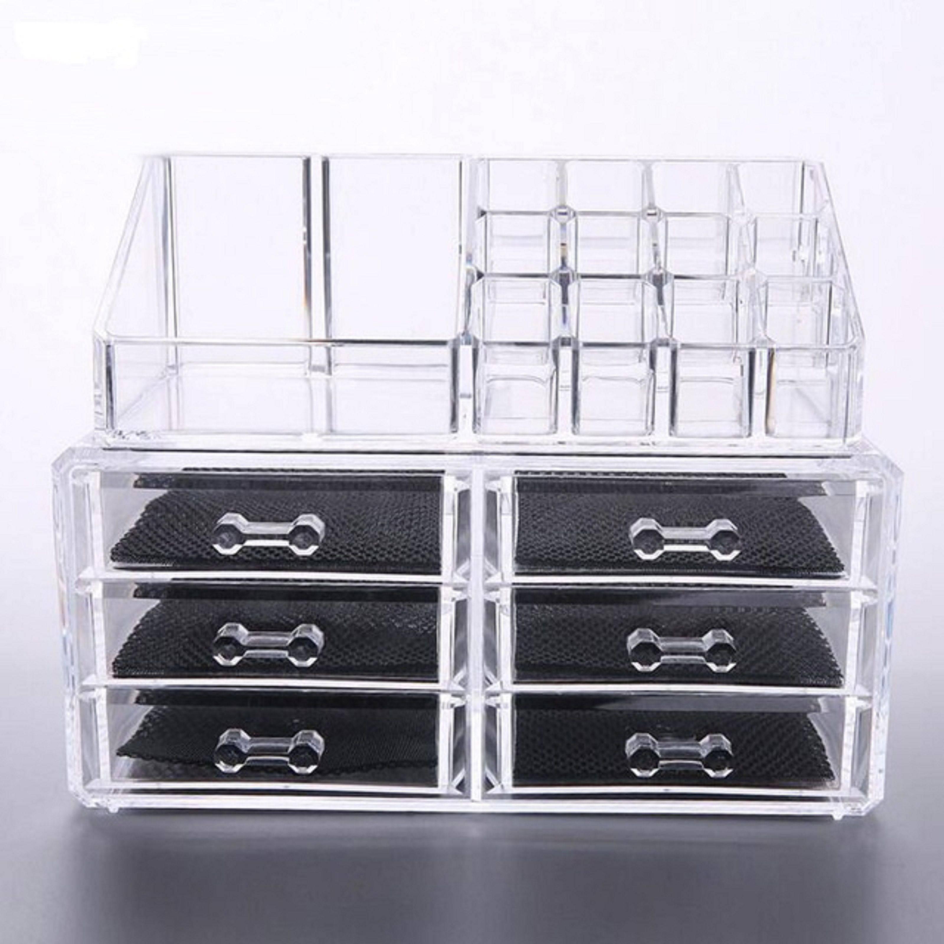 AVMART Cosmetic Organizer Makeup Storage SDL 1