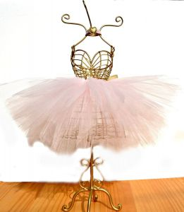 Mannequin Dress form Decorating Unique Ballerina Tutu Centerpiece Wire Mannequin Dressform