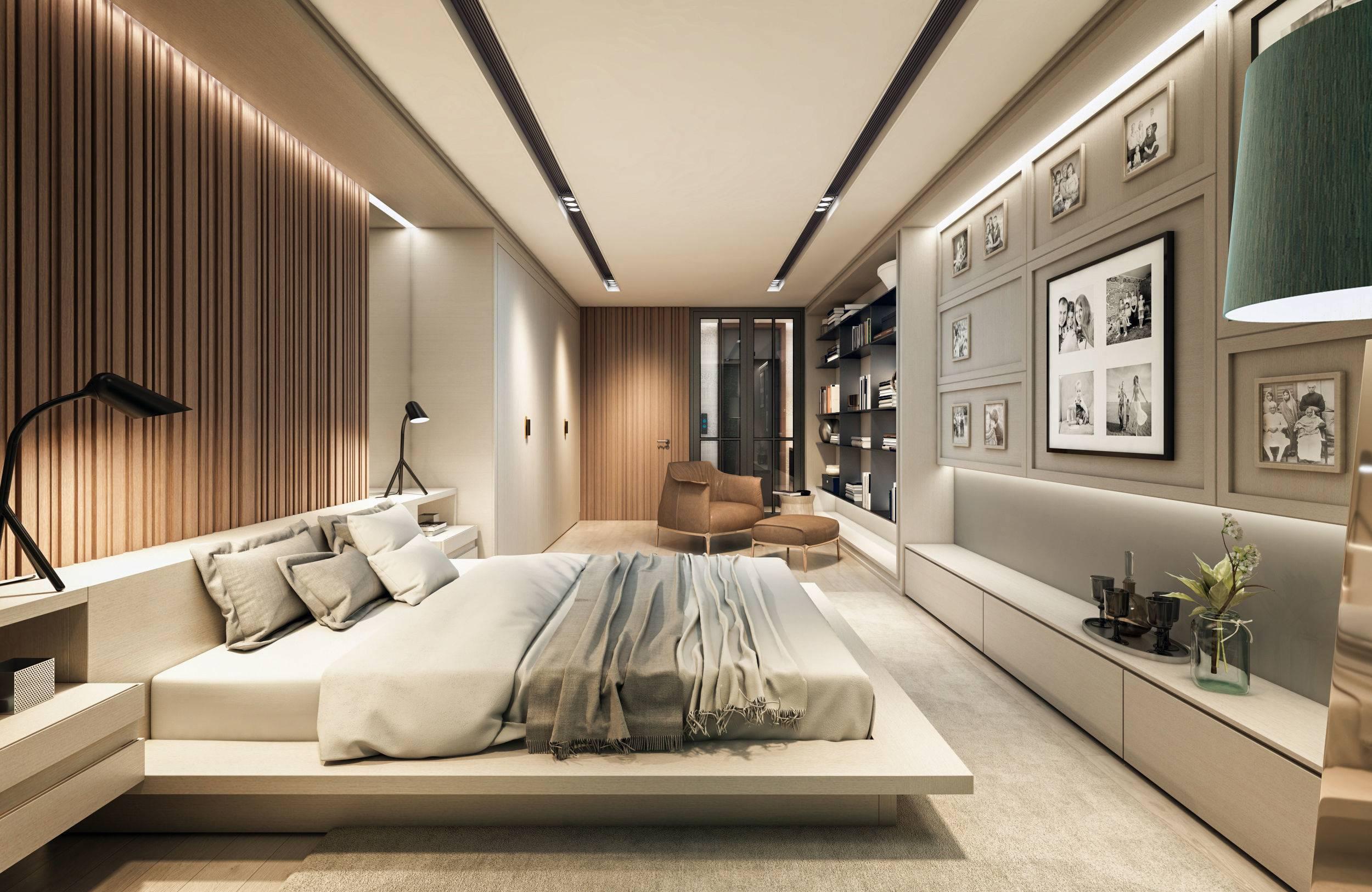 ct master bedroom 3d model max fbx