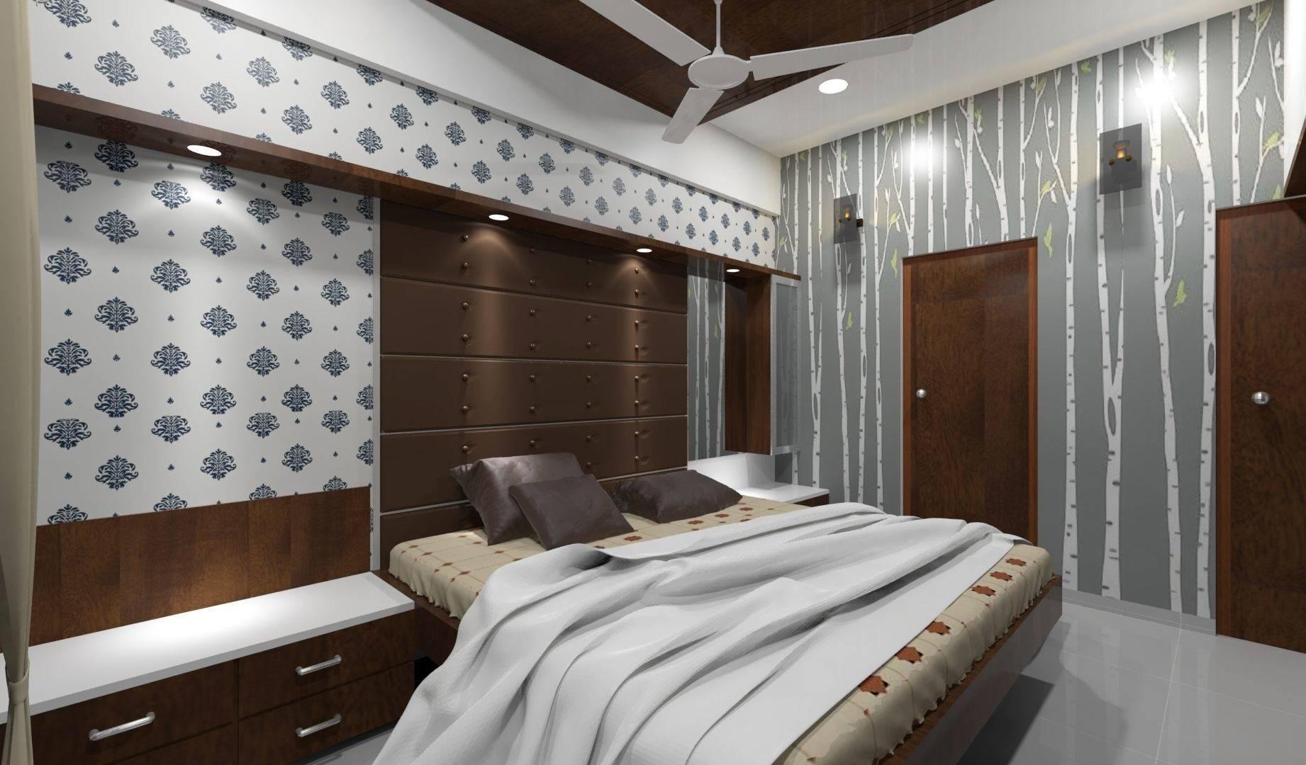 master bedroom interior 3d model rigged 3ds