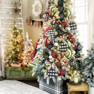 Merry Christmas Wallpaper Room New Merry & Bright Christmas Home tour Christmas