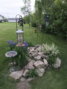 Mini Garden Landscape Design Awesome Bird Feeding Station Projects to Try