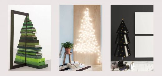 Minimalist Christmas Tree Lovely 21 Alternative Christmas Tree Ideas Unique & Modern