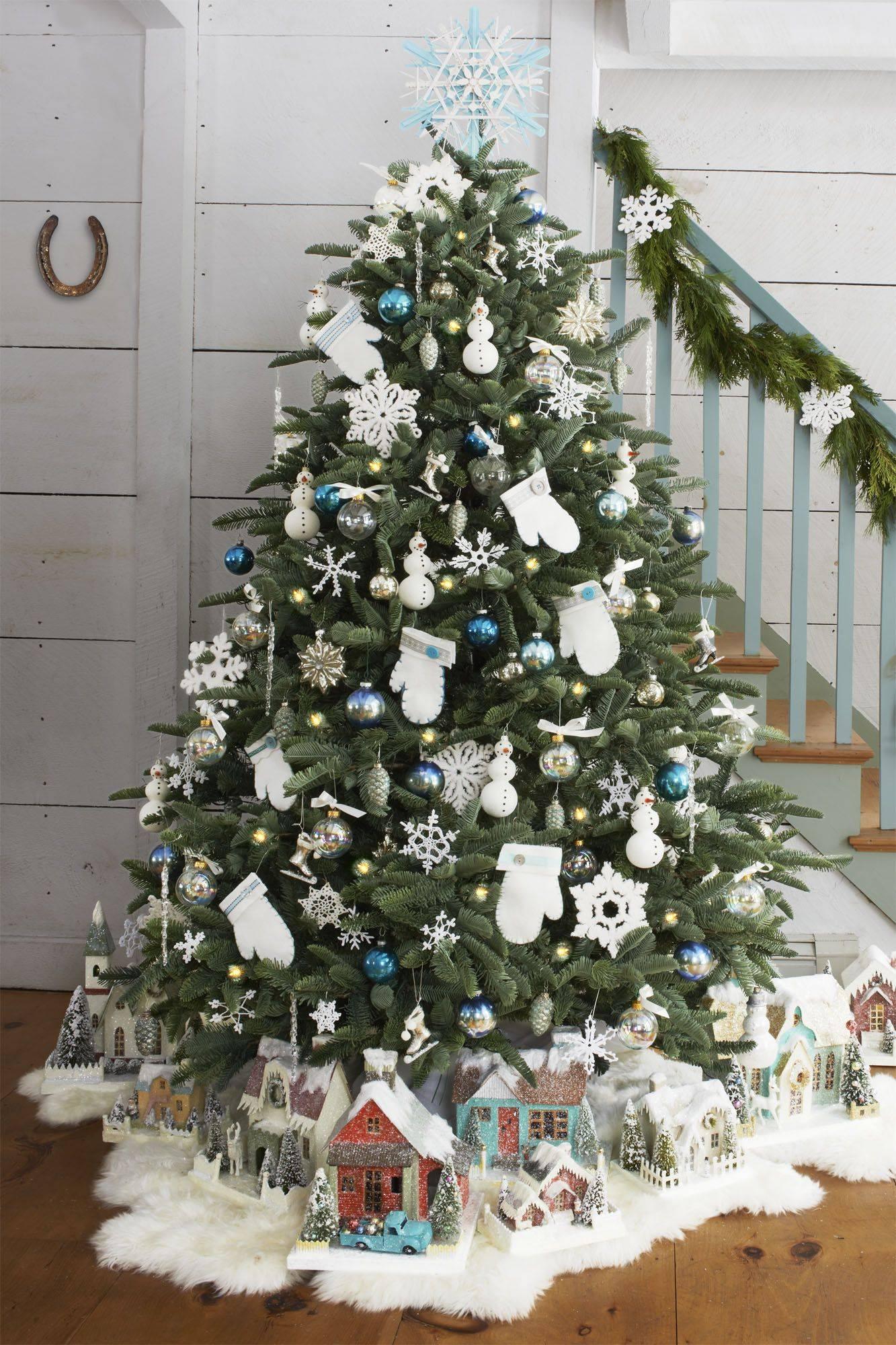 christmas tree ideas mittens