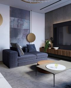 Minimalist Living Room Beautiful Modern Apartment In Moscow