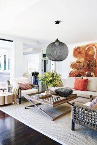 Minimalist Living Room Fresh Modern Hamptons Style Home In Sydney Interiors