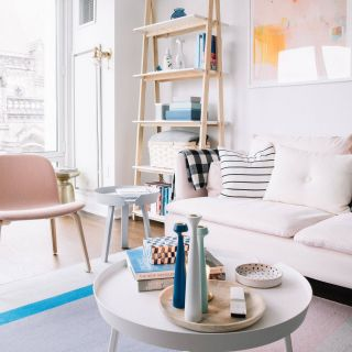 Minimalist Living Room Unique Millennial Pink Decorating Ideas From My Living Room