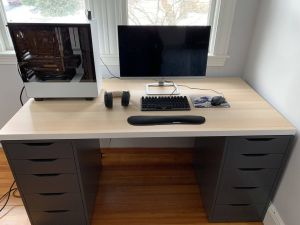 Minimalist Office Desk New Minimal Setup New Desk Bestgamesetups In 2019