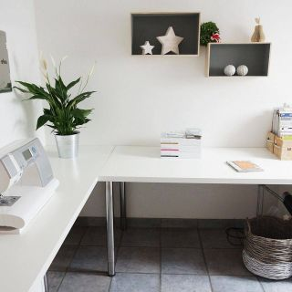 Minimalist Office Desk New Minimalist Corner Desk Setup Ikea Linnmon Desk top with