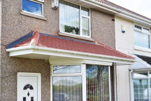 Modern Bay Window Luxury Beautiful Tiled Canopy Above A Bay Window and Front