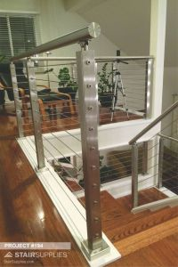 Modern Handrails New Project 194 Round Stainless Steel Handrail