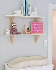 Modern Kids Shelves Unique In the Nursery with Liz Eidelman