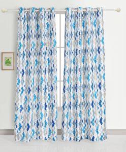 Modern Window Shades Fresh Grand Opal Set Of 2 Long Door Blackout Room Darkening Eyelet Polyester Curtains White