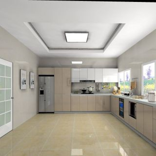 Most Popular Color for Kitchen Cabinets Elegant Modern Cabinet Designs Pure Color the L Shape Kitchen