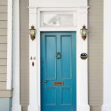 Navy Blue Front Door Colors Elegant Charleston Denim Blue Front Door In 2019
