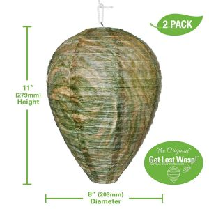 Non toxic House Plants Best Of Fmi Brands Inc original Get Lost Wasp Natural and Safe Non toxic Hanging Wasp Deterrent for Wasps Hornets Yellowjackets 2 Pack Effective