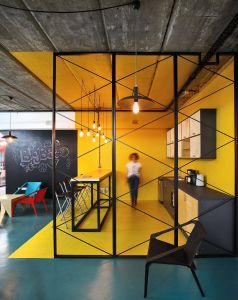 Office Roof Design Lovely A World Of Color and Creative Design Modern Industrial