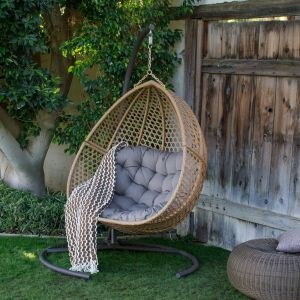 Outdoor Bed Swing Awesome Outdoor Belham Living Cayman Resin Wicker Hanging Double Egg