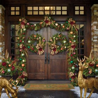 Outdoor Christmas Animal Decorations Awesome Pin On Christmas Exterior Design