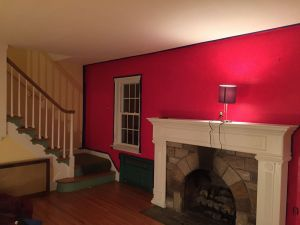 Painting A Accent Wall Lovely Bright Red Accent Wall the Paint is Called Calypso Berry