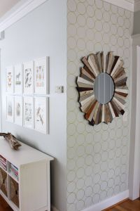 Painting A Accent Wall Lovely Patterned Sharpie Accent Wall