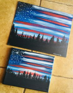 Painting Canvas Ideas Luxury How to Paint American Flag Sky Arts and Crafts