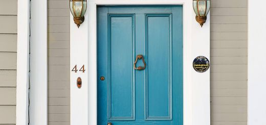 Painting Your Front Door Inspirational Charleston Denim Blue Front Door In 2019