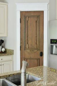 """Pantry Door Ideas Beautiful Diy """"antique"""" Pantry Door Diy"""