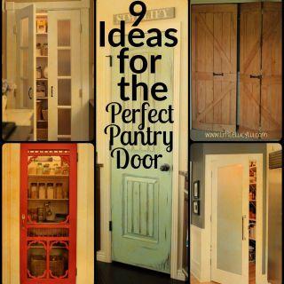 Pantry Door Ideas New 10 Creative Pantry Door Ideas for Inspirational