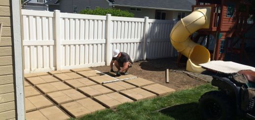 """Paver Patterns for Patios Inspirational Build Your Own Patio 12""""square Pavers In Sets Of 4 Far"""
