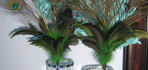 Peacock Feather Decoration Deas Beautiful Diy Peacock Feather Centerpieces for A Pretty Glow Add