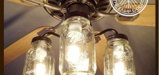 Pendant Lamp Kit Fresh Mason Jar Ceiling Fan Light Kit New Quart Jars