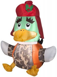Penguin Outdoor Christmas Decorations Lovely 3 5 Duck Hunter Christmas Inflatable