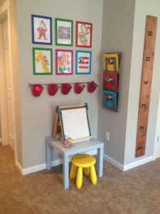 Play Rooms for Kids Awesome Kid Art Station Hanging Baskets for Supplies