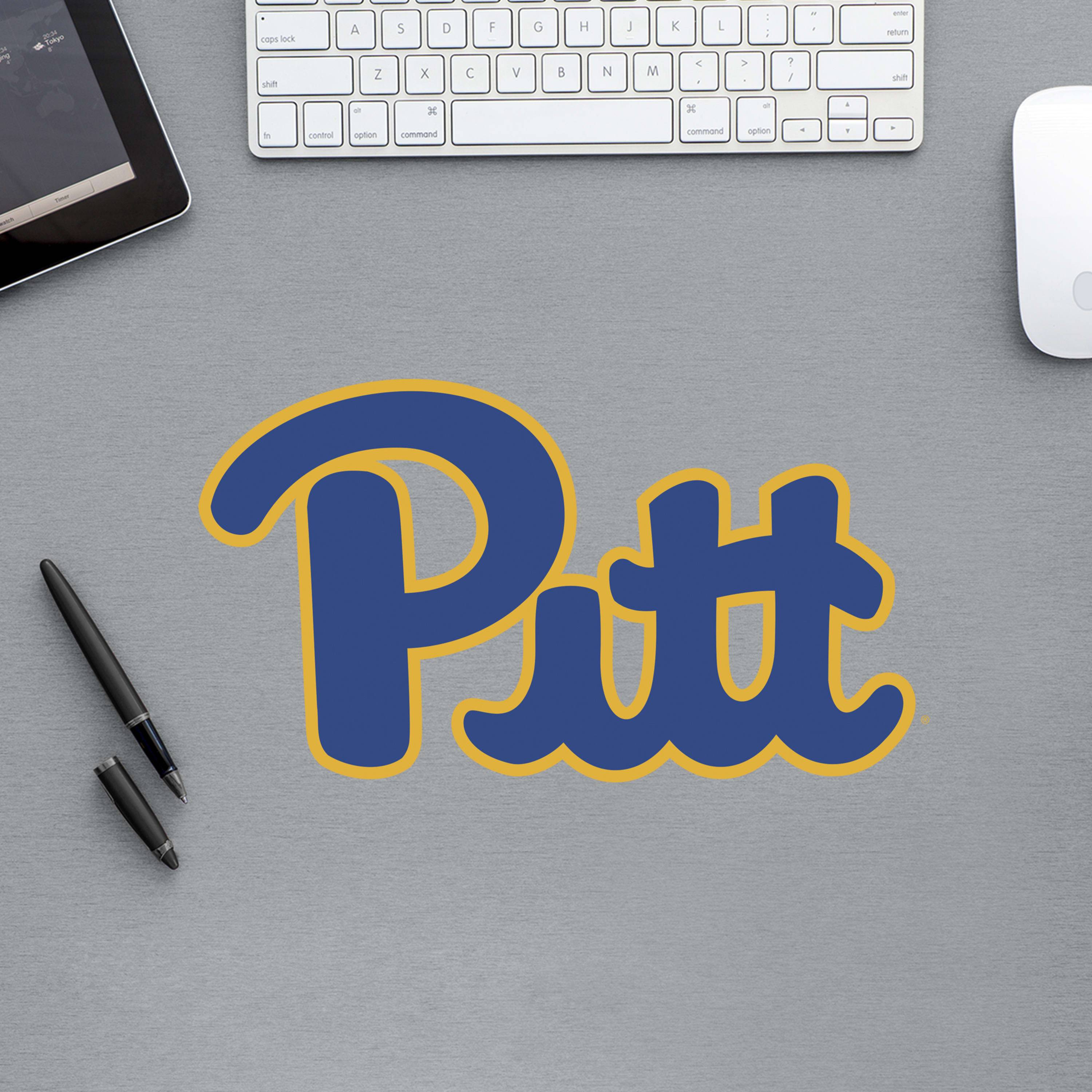 89 ncaa pittsburgh panthers 2018 pod teammate logo pdp