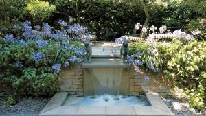 Pool and Landscape Design Fresh Cascading Water Feature Randle Siddeley